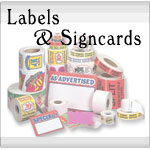 Labels & Signcards