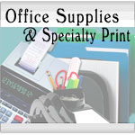 Office Supplies & Specialty Print